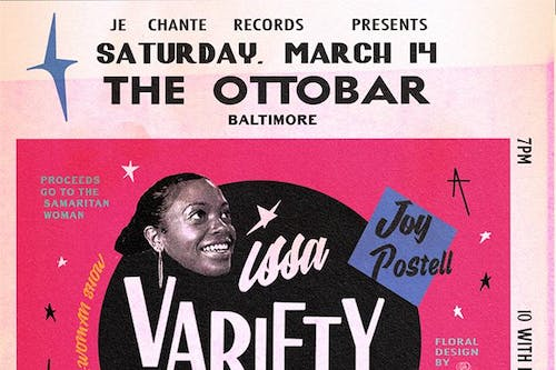 Je Chante Records Presents: Issa Variety Show! Featuring Joy Postell