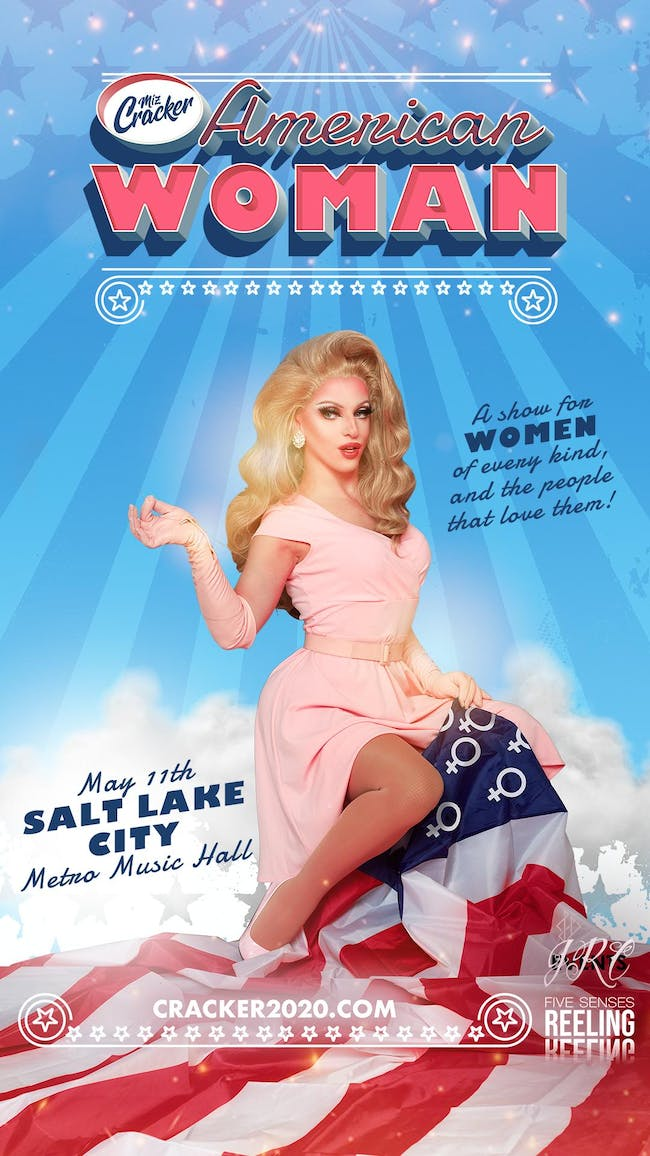 Miz Cracker - American Woman Tour