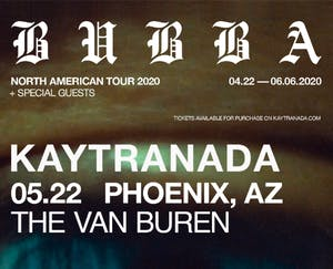 Kaytranada – BUBBA North American Tour