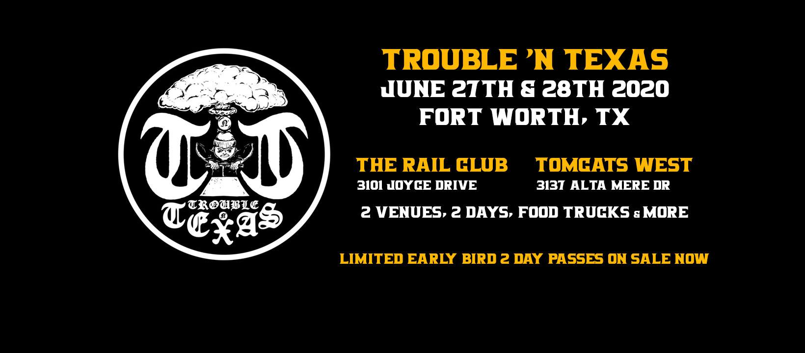 TNT Fest - Fort Worth at The Rail Club and Tomcats West