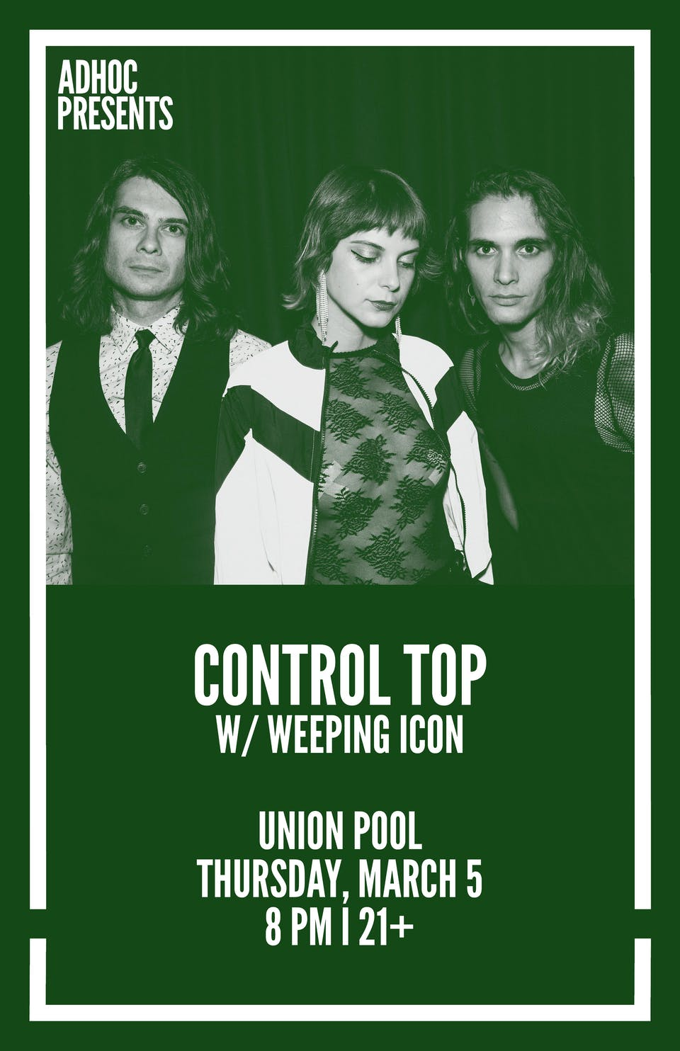 Control Top, Weeping Icon