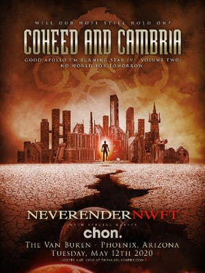 Coheed and Cambria - Neverender: NWFT w/ Special Guests Chon.