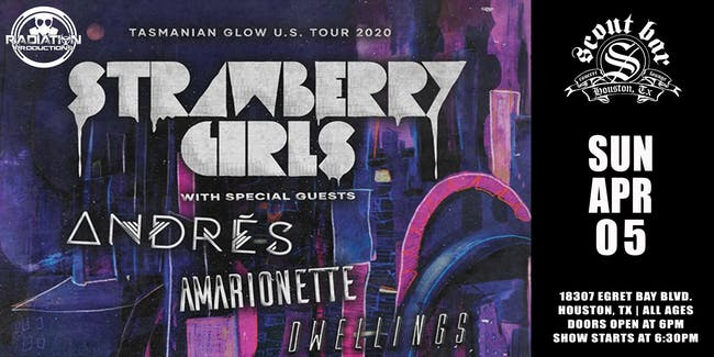 Strawberry Girls - Rescheduled for Sat Sept 5th