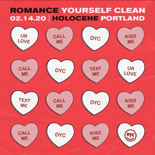 ROMANCE YOURSELF CLEAN: Valentine's Indie Pop Dance Party