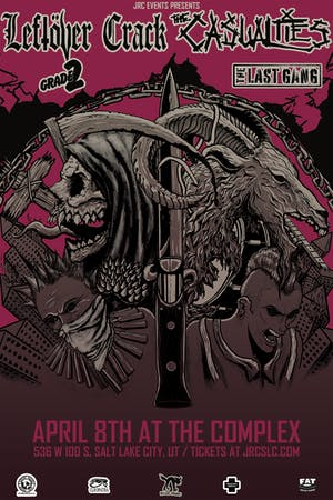 The Casualties / Leftover Crack
