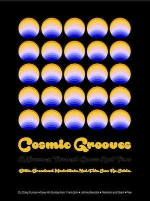 Cosmic Grooves with DJ Corey Duncan