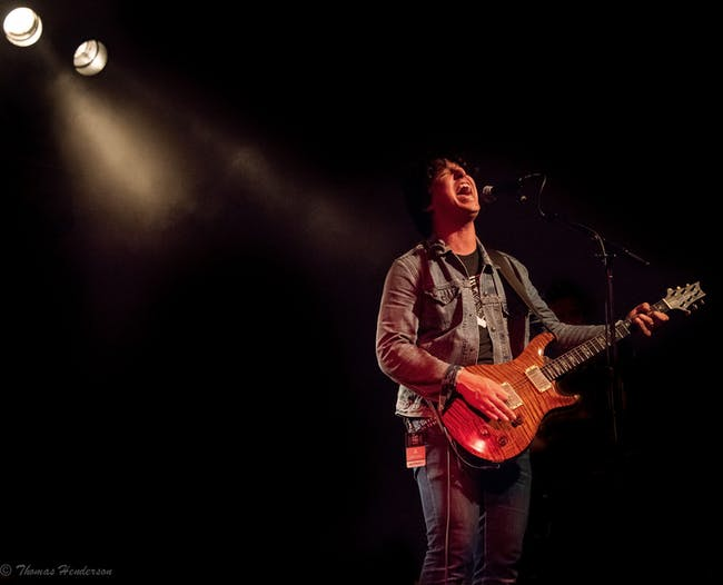 Davy Knowles at Brauer House