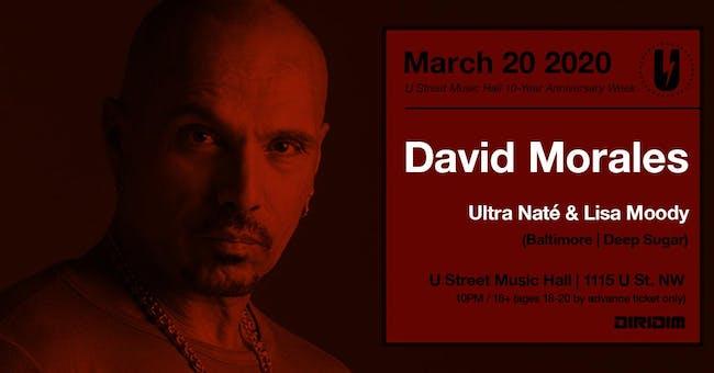 David Morales w/ Ultra Naté & Lisa Moody