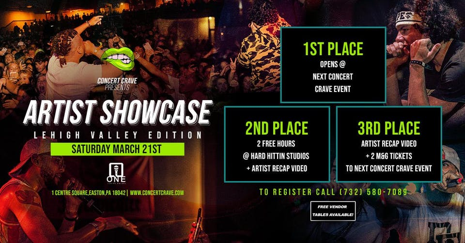 Artist Showcase Lehigh Valley Edition 2020
