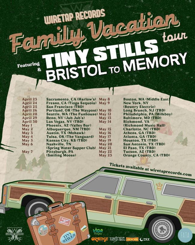 Tiny Stills & Bristol to Memory