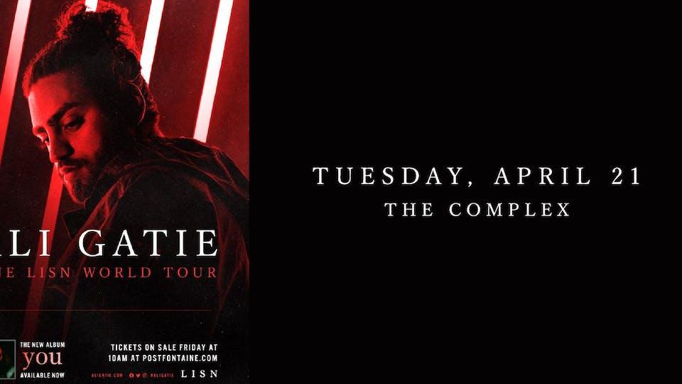 Ali Gatie - ONE LSN WORLD TOUR