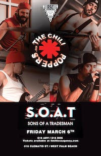 The Chili Poppers (RHCP Tribute & Sons of a Tradesman