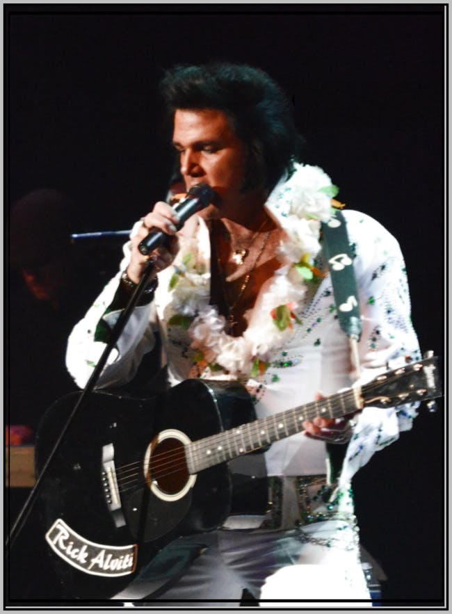 "Rick Alviti's ""That's The Way it Was"" Elvis Tribute"