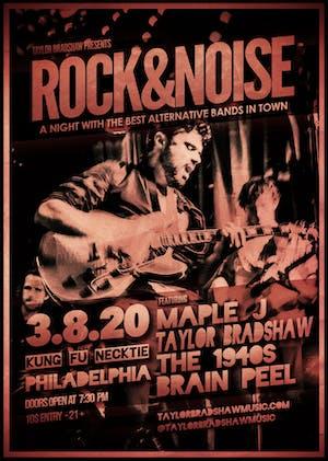 Brain Peel / The 1940s / Taylor Bradshaw / Maple J