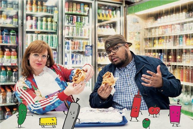 Sandwich with  Gastor Almonte and Jess Salomon