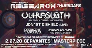 RE:Search ft. Ultrasloth (kLL sMTH/Duffrey/BioLumigeN) w/ Jon1st & Shield
