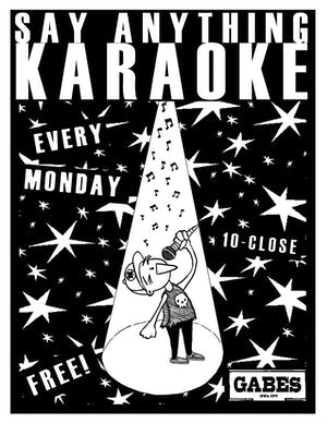 Say Anything Karaoke