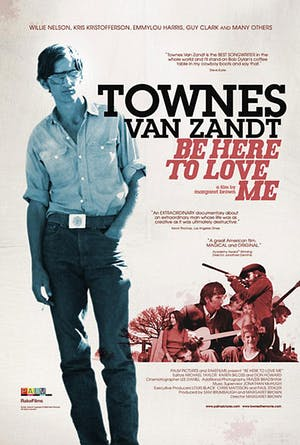 Be Here to Love Me: A Film About Townes Van Zandt at The Parlor Room