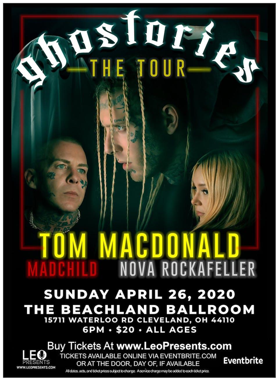 Tom MacDonald • Madchild • Nova Rockafeller • Brandon Hart • Minus Love