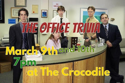 The Office S:1-7 Trivia Night! (Encore) @ The Back Bar