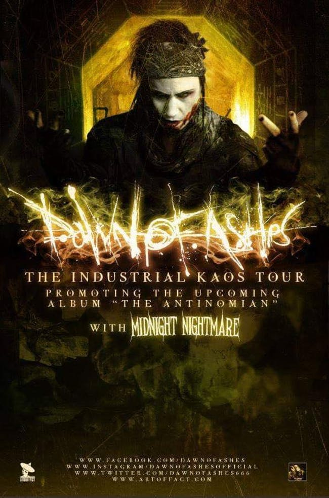 "Dawn of Ashes ""The Industrial Kaos Tour"""