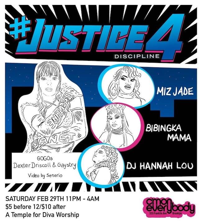 #Justice4Discipline