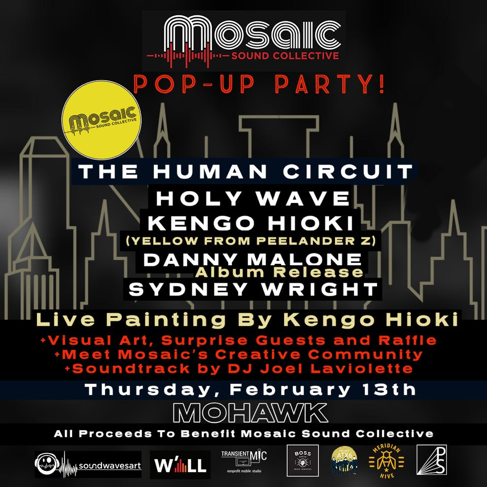 Mosaic Sound Collective Pop-Up @ Mohawk (Indoor)