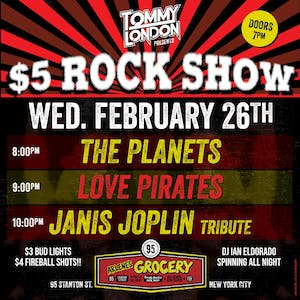 Tommy London's $5 Rock Show