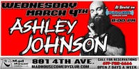Mad House Favorite Ashley Johnson as heard on Sirus XM Comedy Radio!