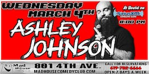 Mad House Favorite Ashley Johnson as heard on Sirus XM Comedy Radio!