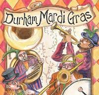 Durham Mardi Gras:  The Bulltown Strutters/ Katharine Wha