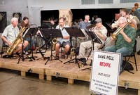 """Pell of A Time"""" featuring the Dave Pell Jazz Band"""