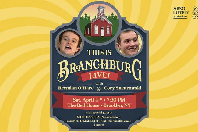 This Is Branchburg w/ Brendan O'Hare & Cory Snearowski