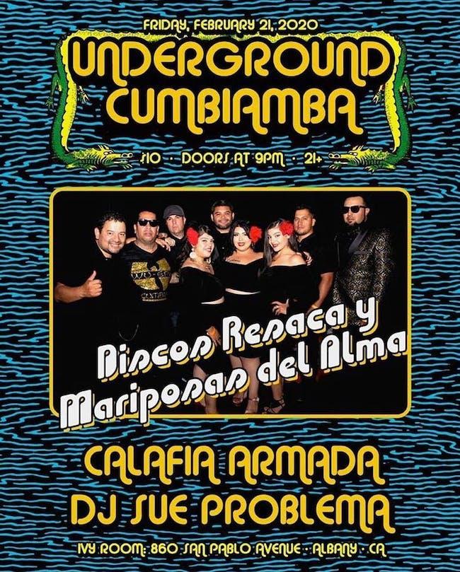 Underground Cumbiamba -Discos Resaca, Calafia Armada, DJ Sue Problema (CVC)