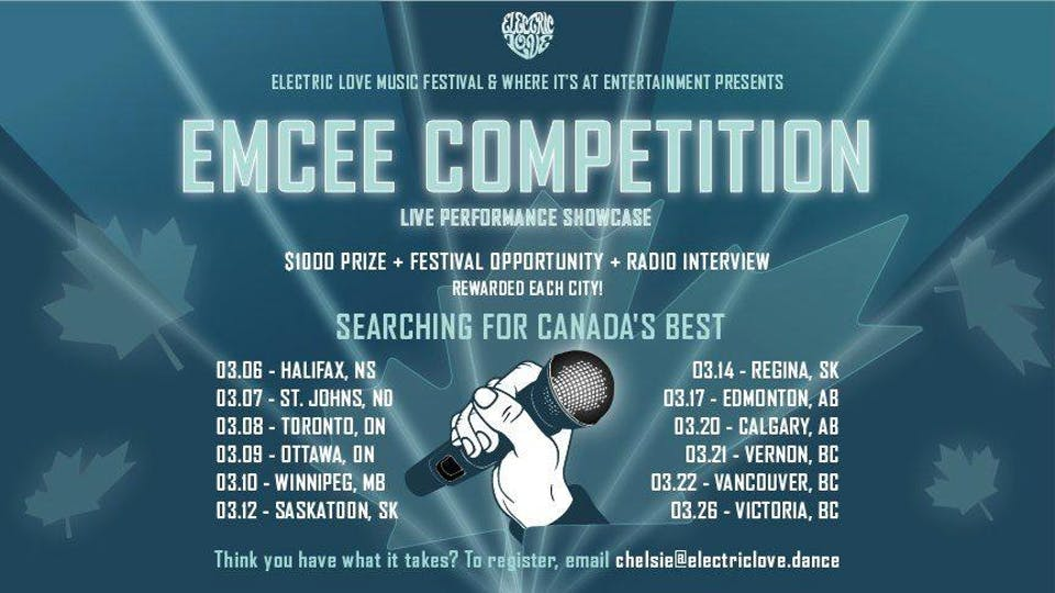 Emcee Competition (Winnipeg)