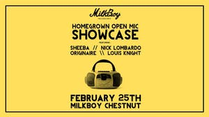 HomeGrown Open Mic Showcase V