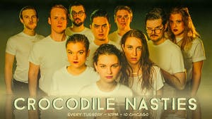 Tuesdays in the Swamp w/ Crocodile Nasties, The Harold Team Mean Streak