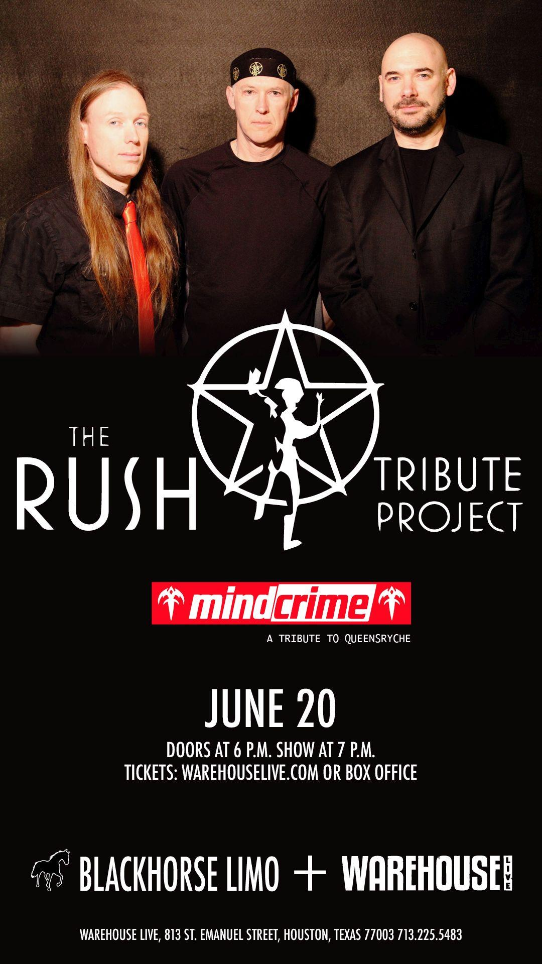 THE RUSH TRIBUTE PROJECT / MINDCRIME (TRIBUTE TO QUEENSRYCHE)