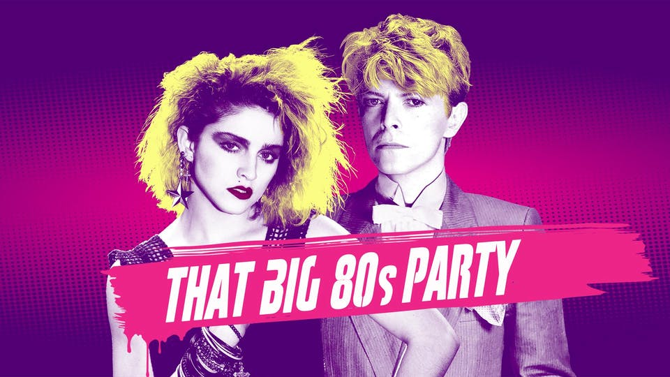 THAT BIG '80s PARTY featuring DJ Dave Paul