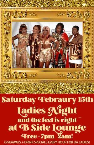 Ladies Night at B Side Lounge