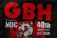 GBH 40th Anniversary Tour - cancelled.  Refunds will be issued.