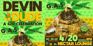 Rescheduled: DEVIN THE DUDE: A 420 celebration