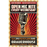 Open Mic Nite at Brauer House