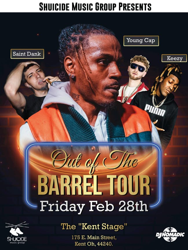 Shuicide Holla - Out of The Barrel Tour