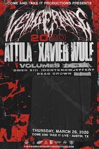 VENGEANCE 2020: ATTILA / XAVIER WULF