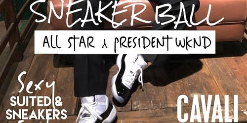 NYC Sneaker Ball, The Sexy Suited & Sneaker Event