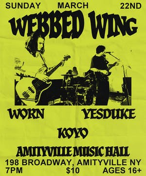 Webbed Wing