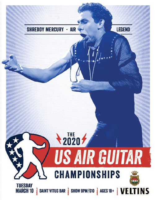 The 2020 US Air Guitar Championships