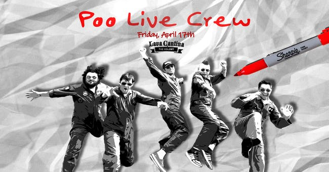 Poo Live Crew - America's Favorite Party Band!