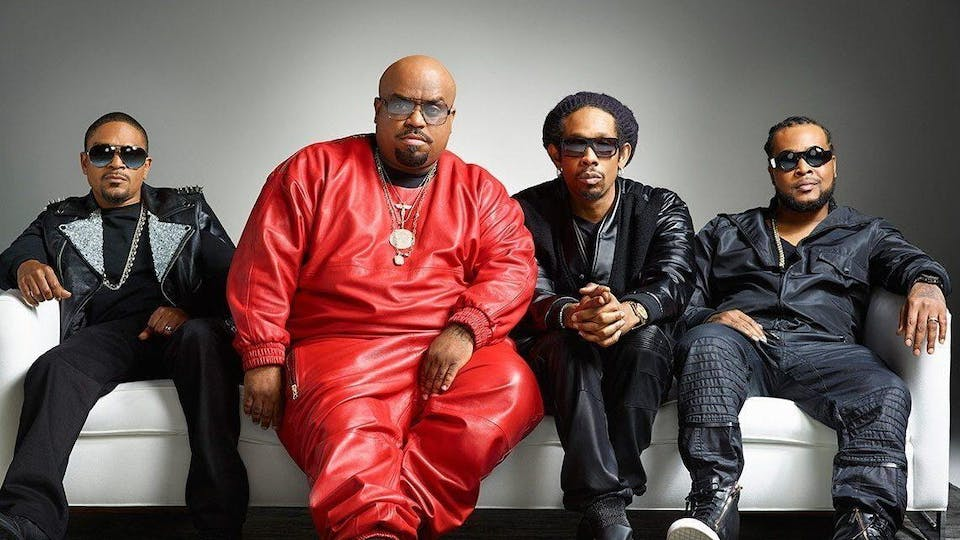 Goodie Mob: Cee-lo Green, Big Gipp, Khujo & T-Mo
